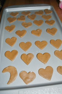 Gingerbread Cookies Finnish Piparkakku Naked Plate