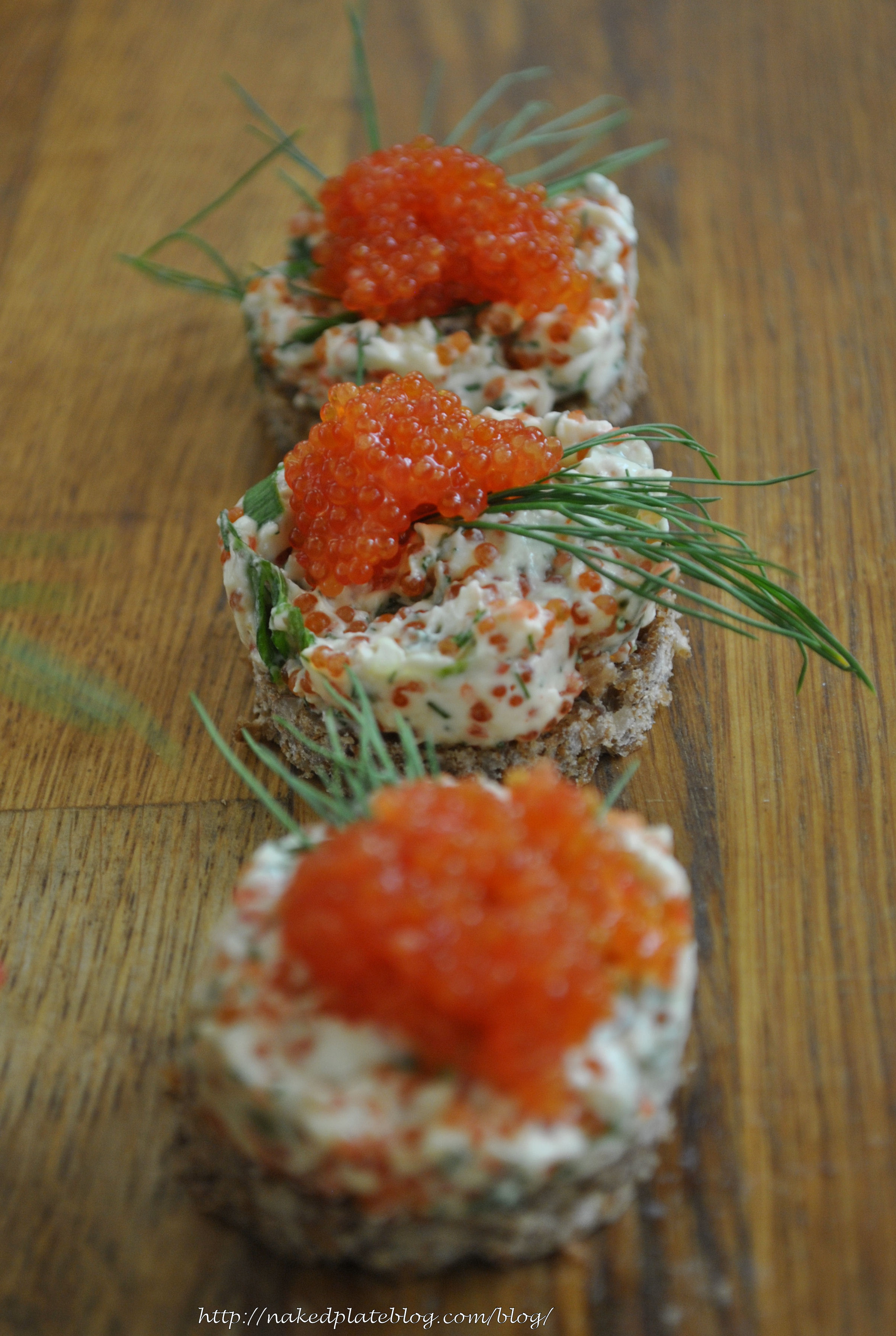 Nordic Tapas - Seaweed caviar