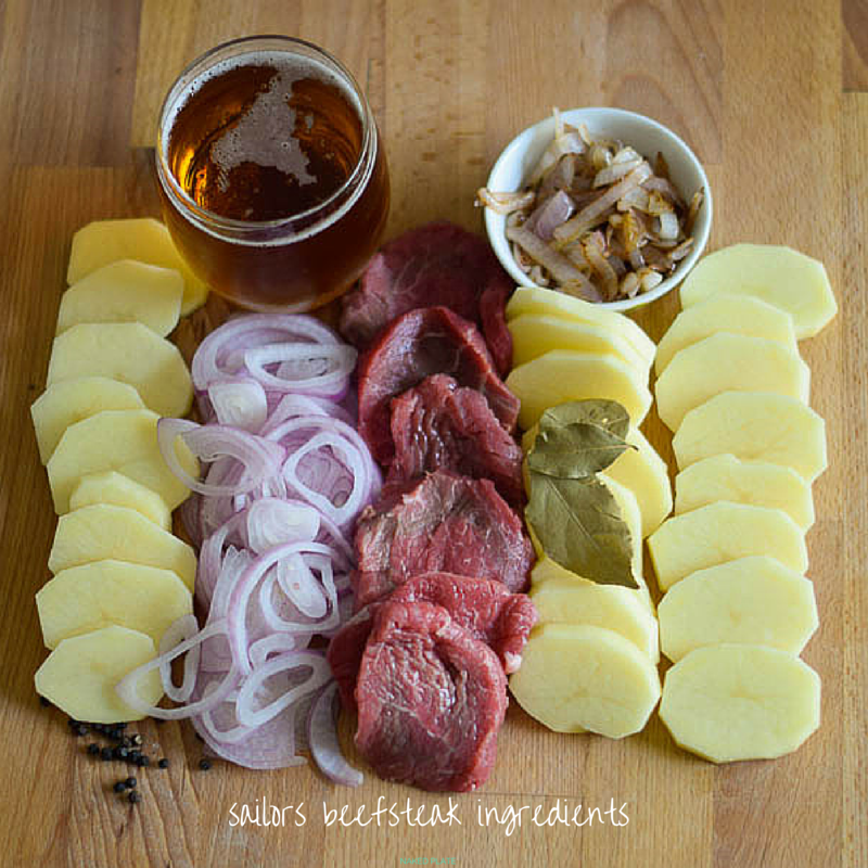 SailorsBeefsteak ingredients