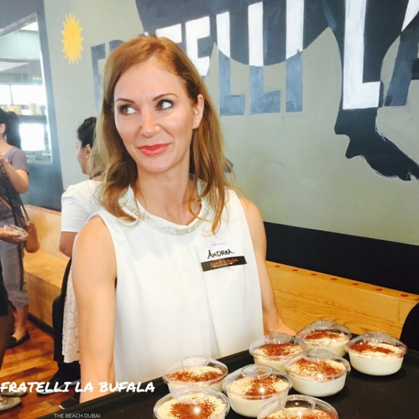 Andrea from Fratelli La Bufala team