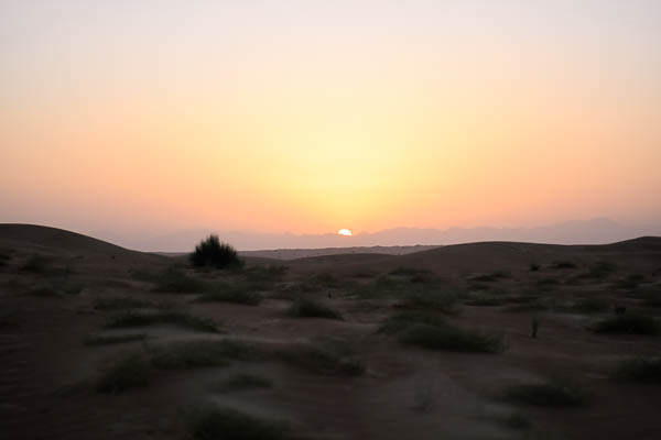 Unseen Trails Dubai - Margham desert sunrise