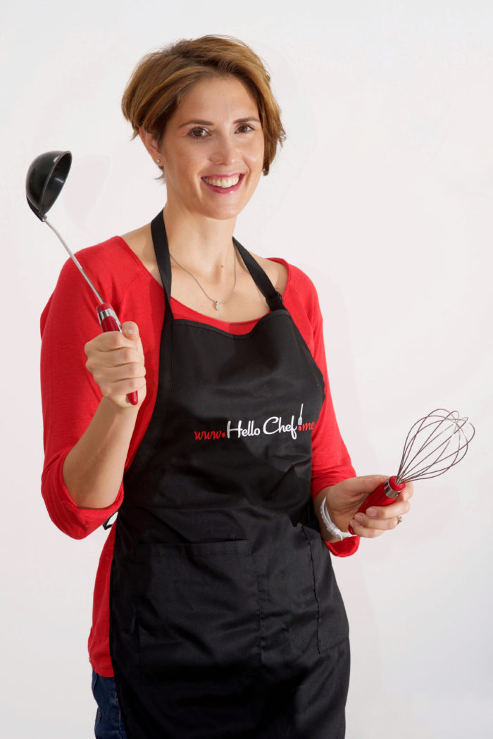 Olivia Manner of Hello Chef! company fore food ingredient and recipe deliveries