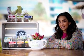 Nisha Primlani-Pugnet of Dubai healthysnacks Nbars